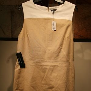The Limited sleeveless panel dress
